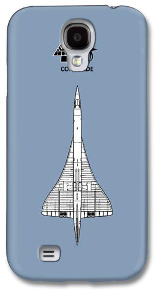 Concorde Galaxy S4 Case