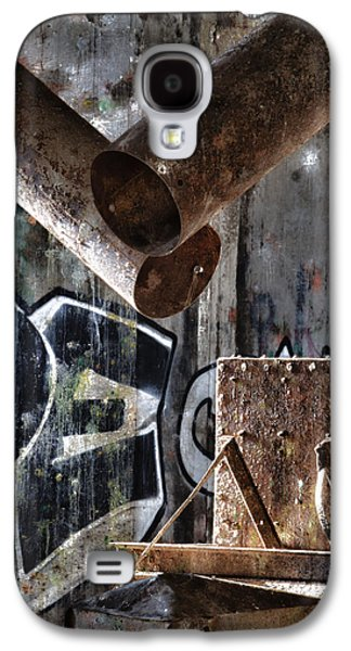 Buffalo Art Digital Art Galaxy S4 Cases - Concrete Central 8 Galaxy S4 Case by Chuck Alaimo