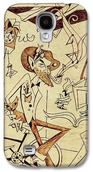 Concurs Disseny Grafic - Cartell Restaurant Els Quatre Gats Barcelona Galaxy S4 Case by Arte Venezia