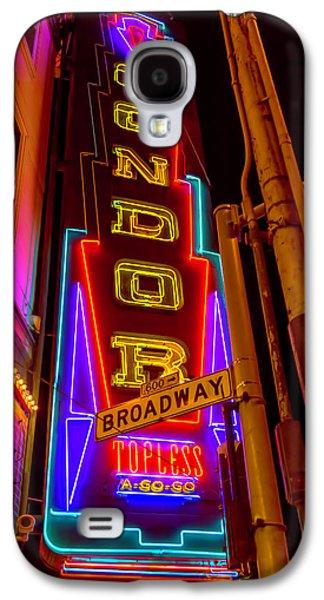 Condor Neon On Broadway Galaxy S4 Case by Garry Gay