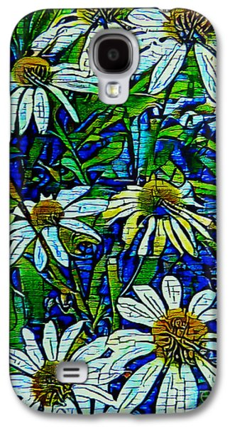 Cone Flower Abstract Galaxy S4 Case
