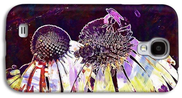 Coneflower Flower Plant Echinacea  Galaxy S4 Case