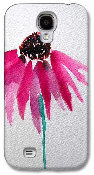 Coneflower Galaxy S4 Case by Sacha Grossel