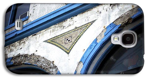 Coney Island Tile Galaxy S4 Case by John Rizzuto