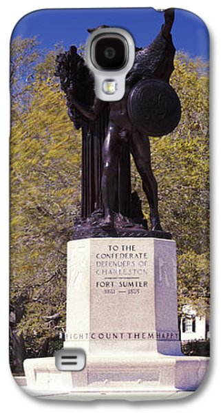Confederate Defenders Statue In A Park Galaxy S4 Case by Panoramic Images
