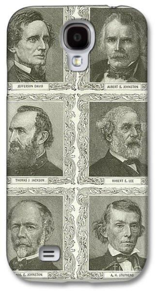 Confederate Leaders Galaxy S4 Case by American School