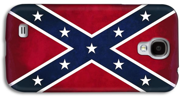 Confederate Rebel Battle Flag Galaxy S4 Case by Daniel Hagerman