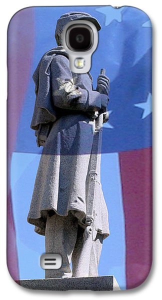 Confederate Statue State Of Alabama Capitol Building Galaxy S4 Case