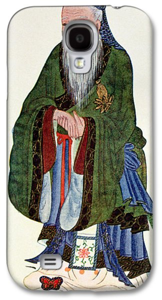 Confucius  Teacher And Philosopher Galaxy S4 Case by English School