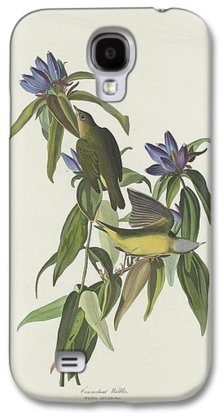 Warbler Galaxy S4 Case - Connecticut Warbler by Dreyer Wildlife Print Collections