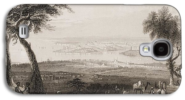 Constantinople From Above Scutari Galaxy S4 Case by Vintage Design Pics