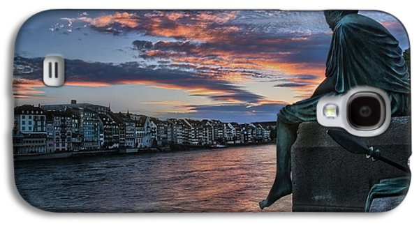 Contemplating Life In Basel Galaxy S4 Case by Carol Japp