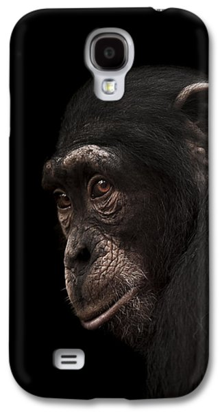 Chimpanzee Galaxy S4 Case - Contemplation by Paul Neville