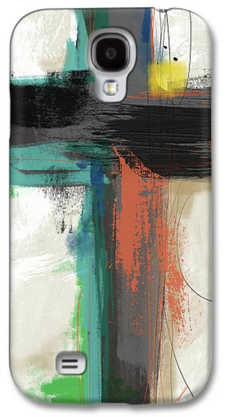 Contemporary Cross 2- Art By Linda Woods Galaxy S4 Case