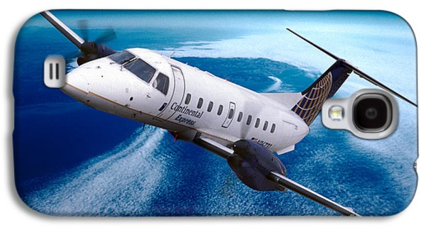 Continental Express Embraer Emb120rt Brasilia N16731 Galaxy S4 Case