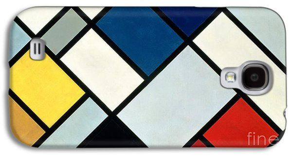 Contracomposition Of Dissonances Galaxy S4 Case by Theo van Doesburg