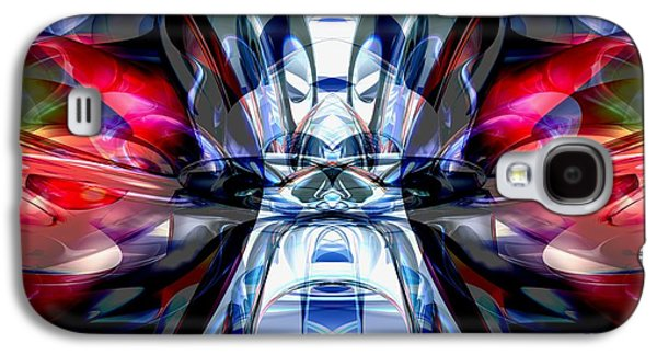 Concentration Digital Galaxy S4 Cases - Convergence Abstract Galaxy S4 Case by Alexander Butler
