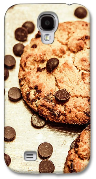 Cookies With Chocolare Chips Galaxy S4 Case by Jorgo Photography - Wall Art Gallery