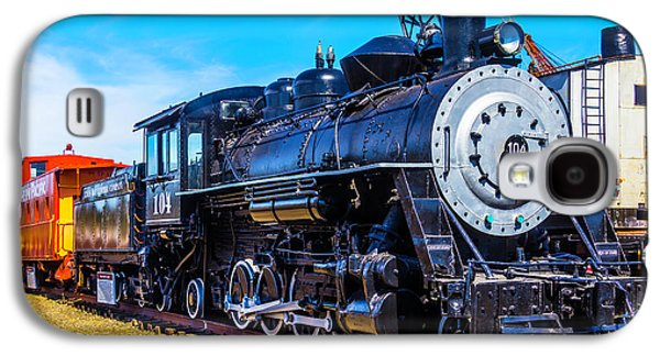 Coos Bay Lumber Company Train 104 Galaxy S4 Case by Garry Gay