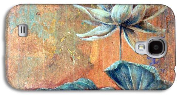 Copper Lotus Galaxy S4 Case