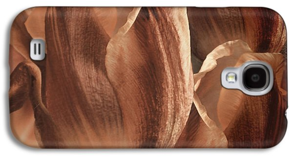Copper Tulips Galaxy S4 Case by Mindy Sommers