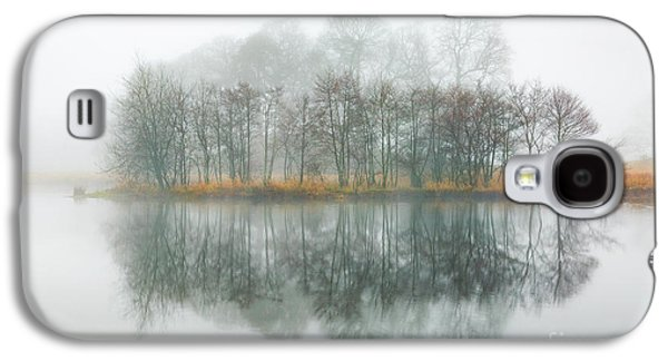 Copse Of Trees In The Mist Galaxy S4 Case by Tony Higginson