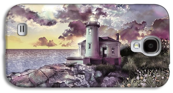Coquille River Lighthouse 2 Galaxy S4 Case