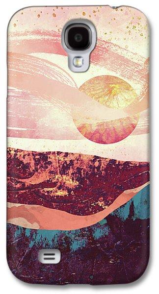Landscapes Galaxy S4 Case - Coral Sky by Katherine Smit