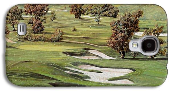 Cordevalle Golf Course Galaxy S4 Case by Guido Borelli