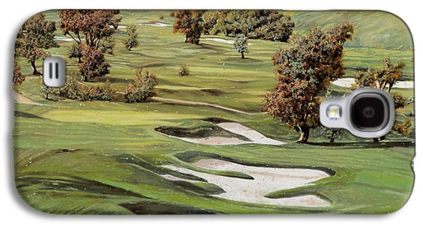 Sports Galaxy S4 Case - Cordevalle Golf Course by Guido Borelli