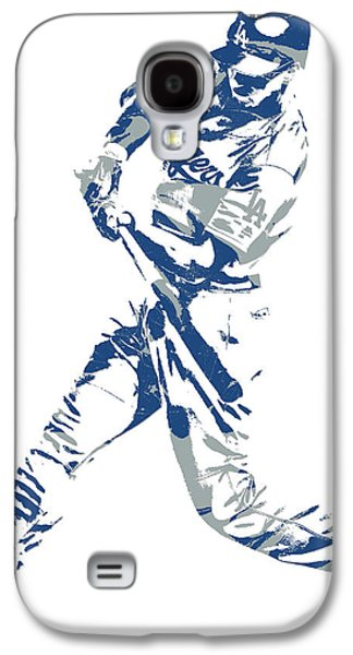 Corey Seager Los Angeles Dodgers Pixel Art 10 Galaxy S4 Case