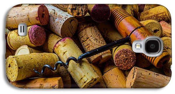 Corks And Corkscrew Galaxy S4 Case by Garry Gay
