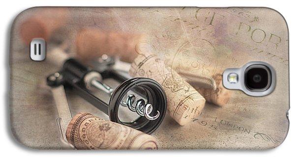 Corkscrew And Wine Corks Galaxy S4 Case by Tom Mc Nemar