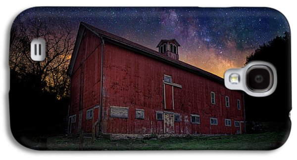 Galaxy S4 Case featuring the photograph Cosmic Barn by Bill Wakeley