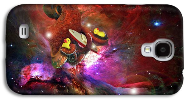 Cosmic Bath Time Galaxy S4 Case by Leah Marie King