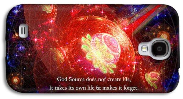 Cosmic Inspiration God Source 2 Galaxy S4 Case