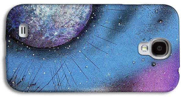 Cosmic Moon Galaxy S4 Case