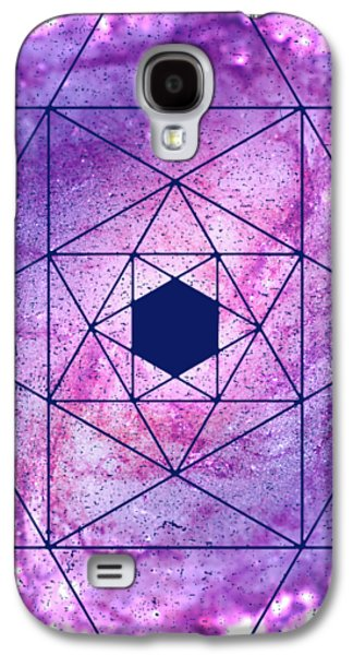 Cosmic Vacuum Cleaner Spiral Galaxy M83 Galaxy S4 Case