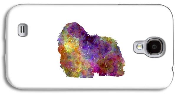 Coton De Tulear In Watercolor Galaxy S4 Case by Pablo Romero