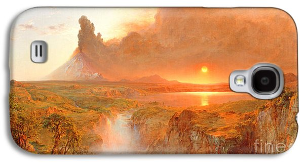 Cotopaxi Galaxy S4 Case by Frederic Edwin Church