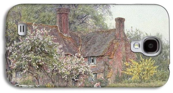 Cottage At Chiddingfold Galaxy S4 Case by Helen Allingham