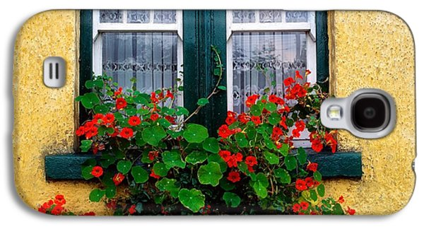 Cottage Window, Co Antrim, Ireland Galaxy S4 Case by The Irish Image Collection