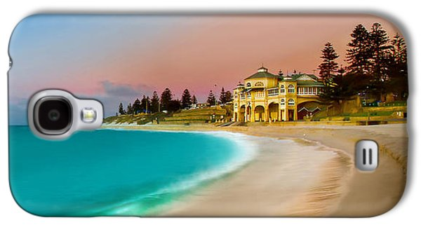 Featured Images Galaxy S4 Case - Cottesloe Beach Sunset by Az Jackson