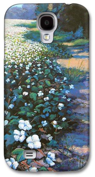 Cotton Field Galaxy S4 Case by Jeanette Jarmon
