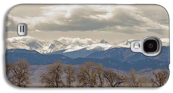 Cottonwood Trees Rocky Mountain View Galaxy S4 Case by James BO Insogna