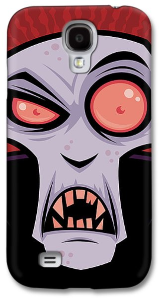 Count Dracula Galaxy S4 Case by John Schwegel