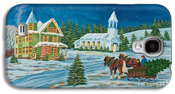 Country Christmas Galaxy S4 Case