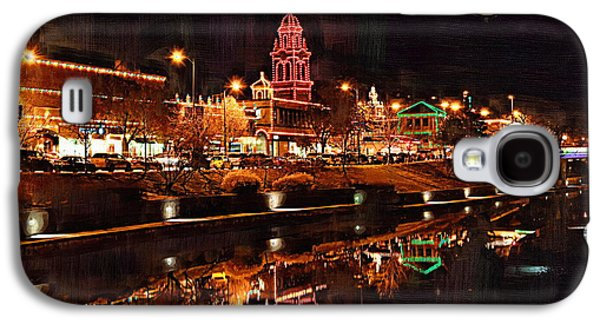 Country Club Plaza Lights Kansas City Missouri Galaxy S4 Case