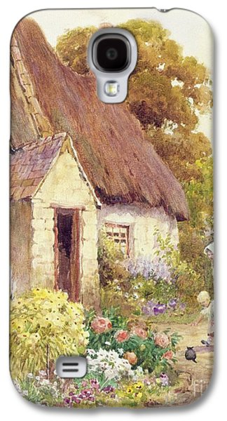 Country Cottage Galaxy S4 Case by Joshua Fisher