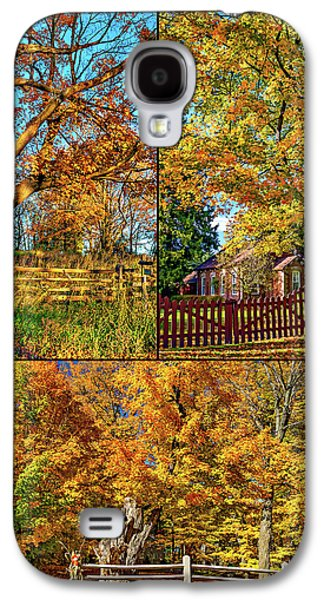 Country Fences Collage Galaxy S4 Case by Steve Harrington